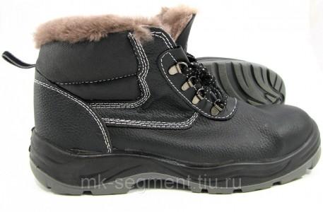 Ботинки рабочие Стандарт (ПУ/ПУ) утепленные (зима)
