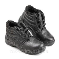 Ботинки рабочие Стандарт (ПУ) МП, искусственный мех
