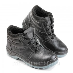 Ботинки рабочие Стандарт (ПУ/ПУ) композит, искусственный мех
