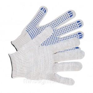 Перчатки хб с ПВХ 3 нити 10 класс 30 гр