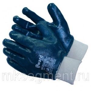 Перчатки МБС нитриловые с манжетом-резинка