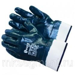 Перчатки МБС нитриловые с манжет-крагой