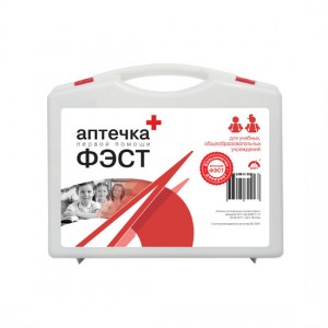 Аптечка для оказания первой помощи в детских учебных учреждениях