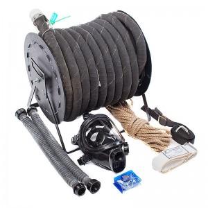 Противогаз ПШ-20Б с маской ППМ и шлангом армированным металлической спиралью