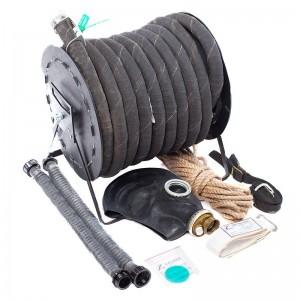 Противогаз шланговый ПШ-1Б с маской ШМП и шлангом армированным металлической спиралью
