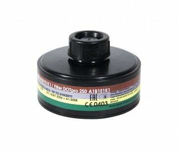 Фильтр протитвогазовый ДОТпро 250 А1B1Е1К1