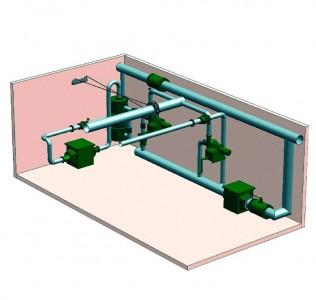 Фильтровентиляционный комплект для убежищ ФВК-1