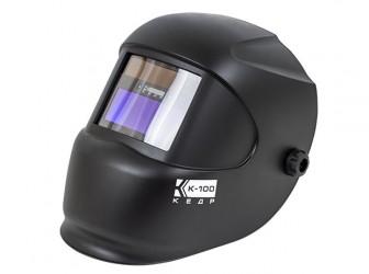 Маска сварщика КЕДР К-100, черная