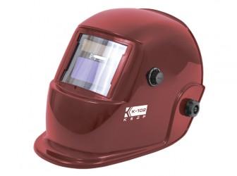 Маска сварщика КЕДР К-102, красная