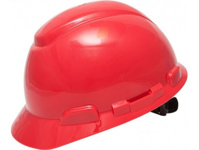 Каска защитная 3M H-701N-RD без вентиляции с храповиком