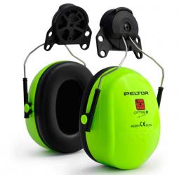 Наушники противошумные повышенной видимости Hi-Viz, с креплением на каску 3М PELTOR Optime II H520P3E-467-GB