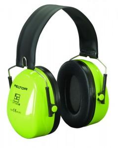 Наушники противошумные повышенной видимости Hi-Viz, со складным оголовьем 3М PELTOR Optime II H520F-460-GB