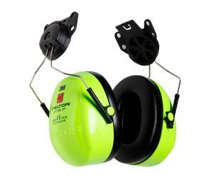 Наушники противошумные повышенной видимости Hi-Viz, с креплением на каску 3М PELTOR Optime I H510P3E-469-GB