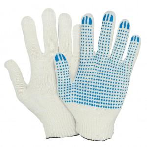 Перчатки трикотажные с пвх покрытием 4 нити 7,5 класс