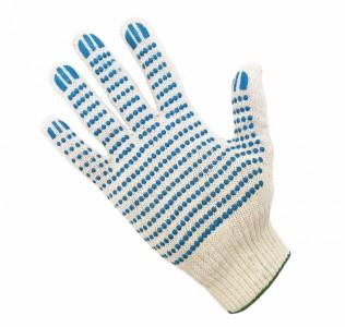 Перчатки трикотажные с ПВХ покрытием 5 нитей 10 класс