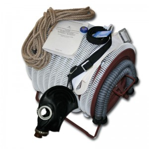 Противогаз шланговый ПШ-1Б с маской ШМП и шлангом ПВХ