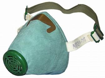 Респиратор Р-2 для защиты от радиоактивной пыли