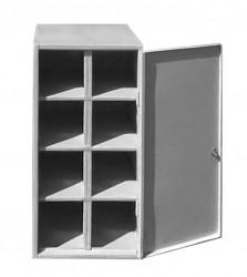 Шкаф металлический для хранения противогазов ШМ-Пр-8